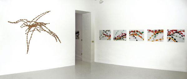 PL exhibition view Carbone.to Gallery Turin 2004