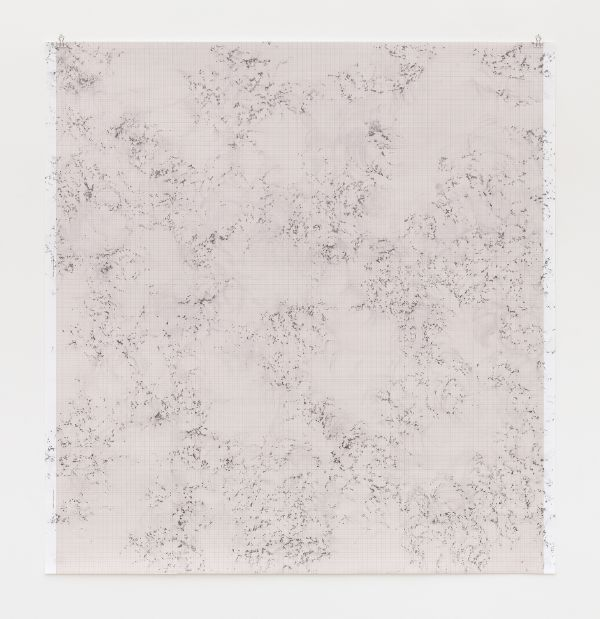 Inframondo (Underworld) Emma Kunz Grotte # 18 2019 graphite on graph paper 115 x 110 cm