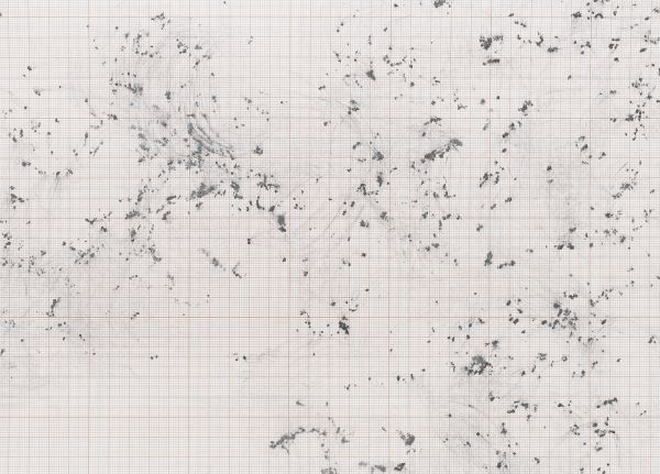 Inframondo (Underworld) Emma Kunz Grotte # 22 2019 detail graphite on graph paper 75 x 80 cm