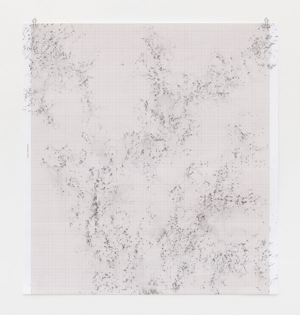Inframondo (Underworld) Emma Kunz Grotte # 24 2019 graphite on graph paper 80 x 75 cm