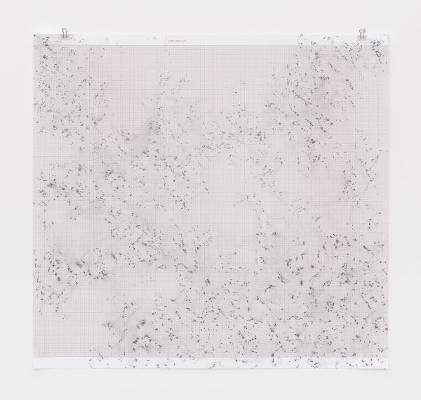 Inframondo (Underworld) Emma Kunz Grotte # 26 2019 graphite on graph paper 75 x 80 cm